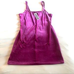 NWT Urban Outfitters velvet tank dress